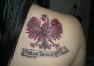 Polish Tattoos And Meanings Polish eagle tattoo