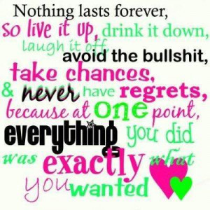 Myspace Graphics > Quotes > nothing lasts forever 2 Graphic