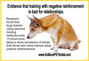 ... compared to only 8% of those in the positive reinforcement class