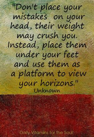 good reminder for 'self'.