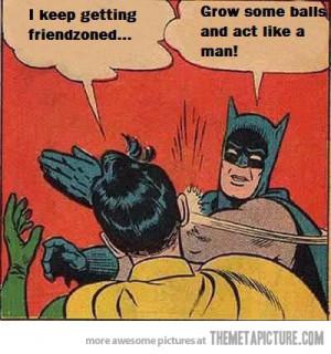 funny Batman slap meme shut up
