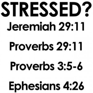 If you're stressed, these are some great Bible verses to help!