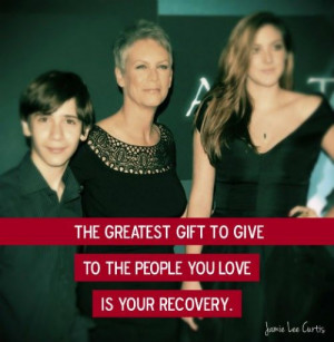The 10 Most Inspirational Jamie Lee Curtis Quotes on Recovery | Duffy ...