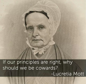lucretia mott Quaker abolitionist, suffragist, and educator lucretia coffin was born in nantucket, massachusetts, and raised a quaker lucretia married james mott in 1811 in 1821, the couple moved to philadelphia, and as a quaker minister, lucretia began her work.