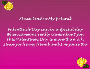 Valentine's Day Poems for Friends