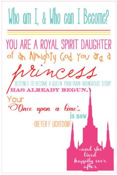 you are a royal spirit daughter handout more women ideas royal spirit ...