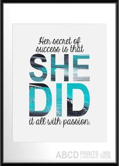 What's your passion? Find it and make your dreams come true! # ...