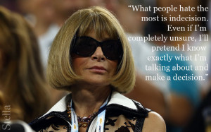 Anna Wintour vogue quote