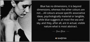 Quotes by Yves Klein