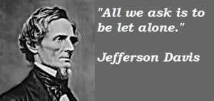Jefferson Davis Quotes Civil War