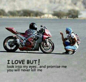 Motorcycle Quotes Promise...