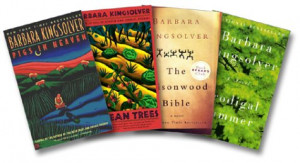 ... Set (Pigs in Heaven, Bean Trees, Poisonwood Bible, Prodigal Summer