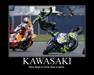 Kawasaki/sportbike posters and ads