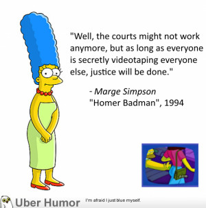 Marge Simpson on the South Carolina police shooting