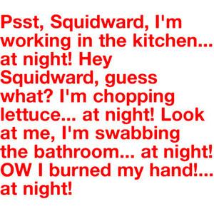 SpongeBob Quote:)