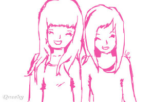 friend drawings easy best friend drawings best friends kristina webb ...