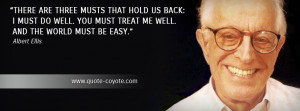 albert ellis quotes facebook cover