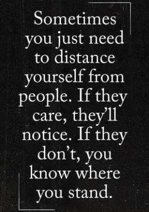 Distance Quotes (Moving On Quotes) 0219 4