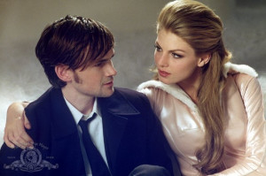 Still of Jeremy Davies and Angela Lindvall in CQ (2001)