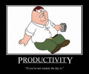 funny family guy logic, demotivational posters
