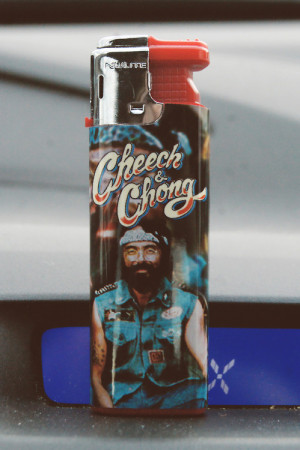 Tommy Chong lighter cheech and chong