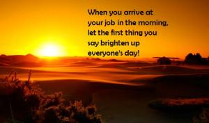 Brighten up someone's day