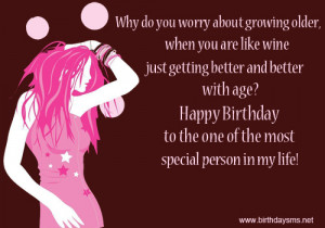 Special Happy Birthday to Older Sister