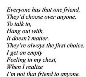 heartbreak numb lonly sad quotes depressive heartbreaker Fake Friends ...