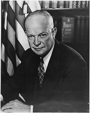 ... being a soldier, General Dwight David Eisenhower was a leader of men