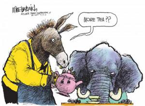 Funny Political Cartoons Tea Party