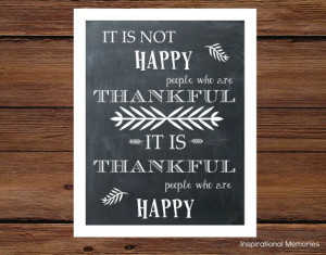Framed Thanksgiving Inspirational Quote by inspirationalmemory