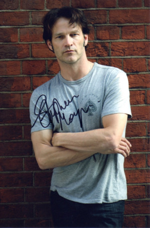 ... by Stephen to a fan who has made a donation to the Stephen Moyer