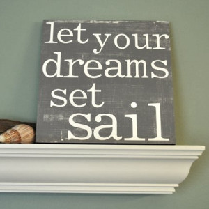 sayings and quotes by Red Letter Words . Honoring your dreams ...