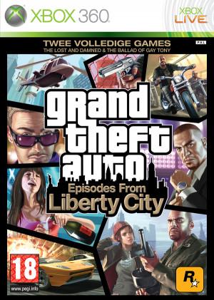 Boxart van Grand Theft Auto IV (GTA 4): Episodes from Liberty City ...
