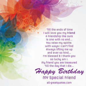... like free birthday cards friends friendship poems friendship quotes