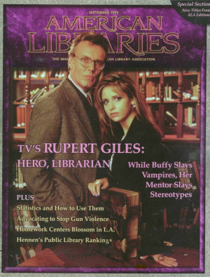 Buffy quotes for every occasion. Part 4: Librarianship
