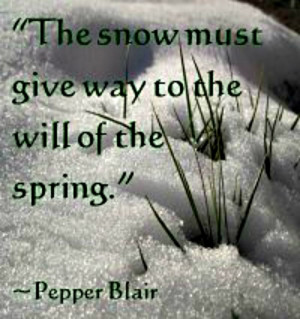 first day of spring quote
