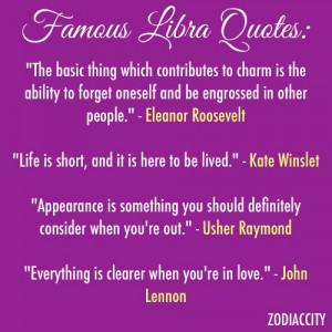Famous Libra Quotes