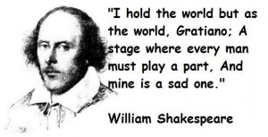 Famous Quotes By Shakespeare About Love William shakespeare famous