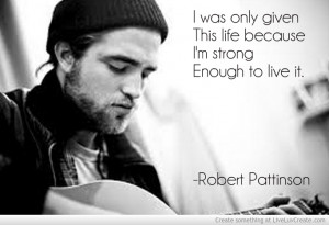 Robert Pattinson Quote