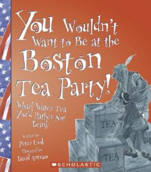 ... Be at the Boston Tea Party!: Wharf Water Tea, You'd Rather Not Drink