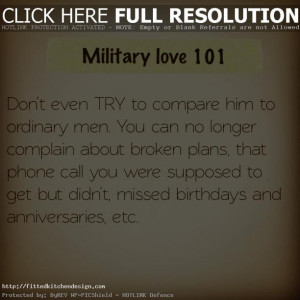 military girlfriend quotes