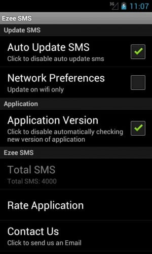 Ezee SMS Collection - screenshot