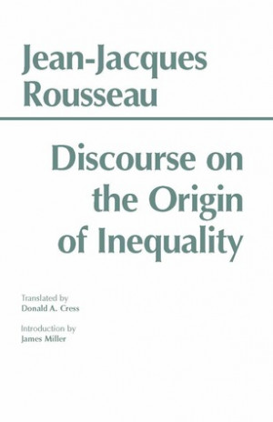 "... marking ""Discourse on the Origin of Inequality"" as Want to Read"