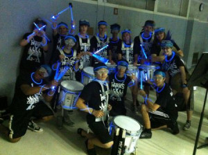 cool drumline sayings