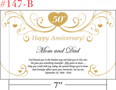 Happy 50th Anniversary to a Special Couple