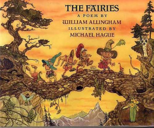 The Fairies., Allingham, William. Up the airy mountain, Down the rushy ...