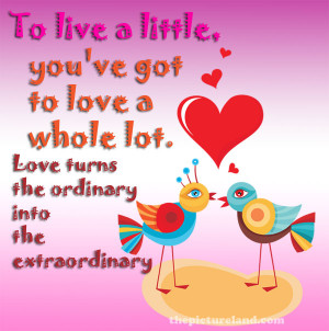 Love Sayings And Pictures Of Cute Love Bird