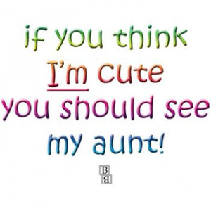 Funny Aunt, Uncle & Relatives Baby Clothes