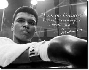 Throwback Thursday: Muhammad Ali!